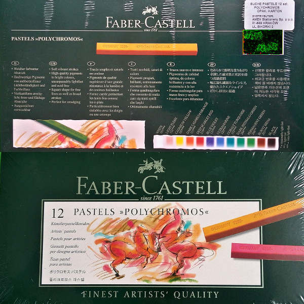 Pastele Polychromos, FABER CASTELL.